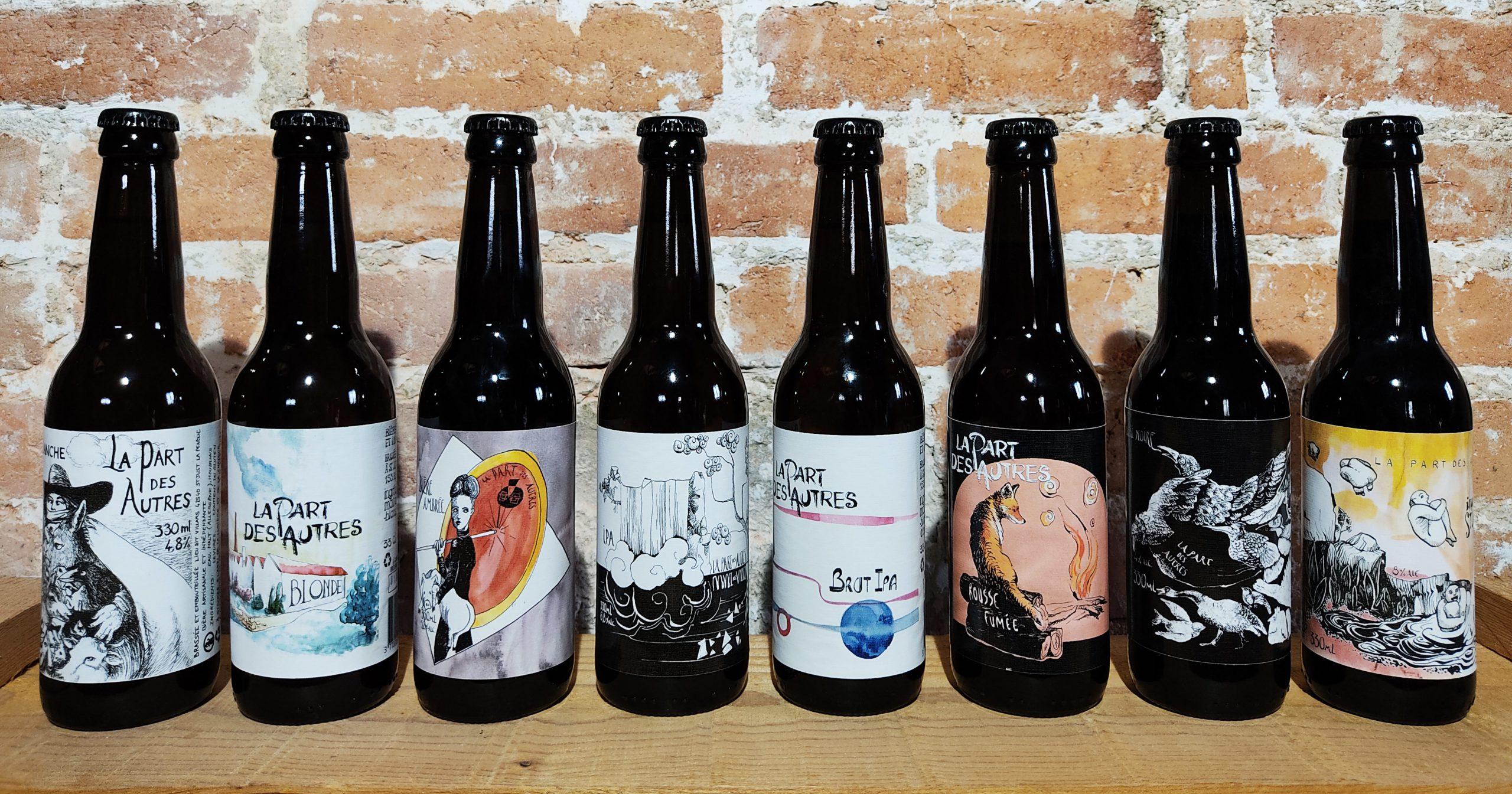bières La Brasserie La Part Des Autres Saint Just La Pendue