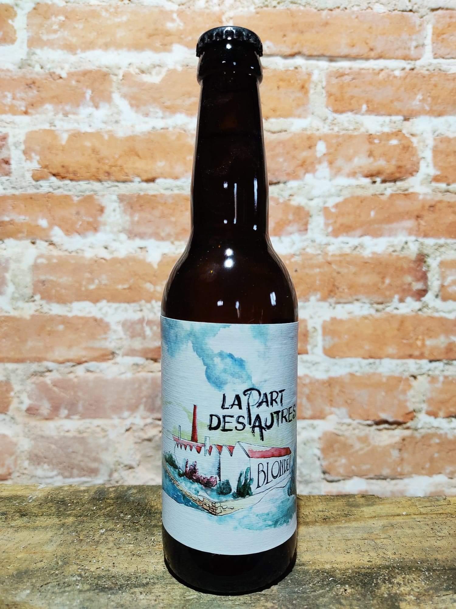 bière blonde La Brasserie La Part Des Autres Saint Just La Pendue