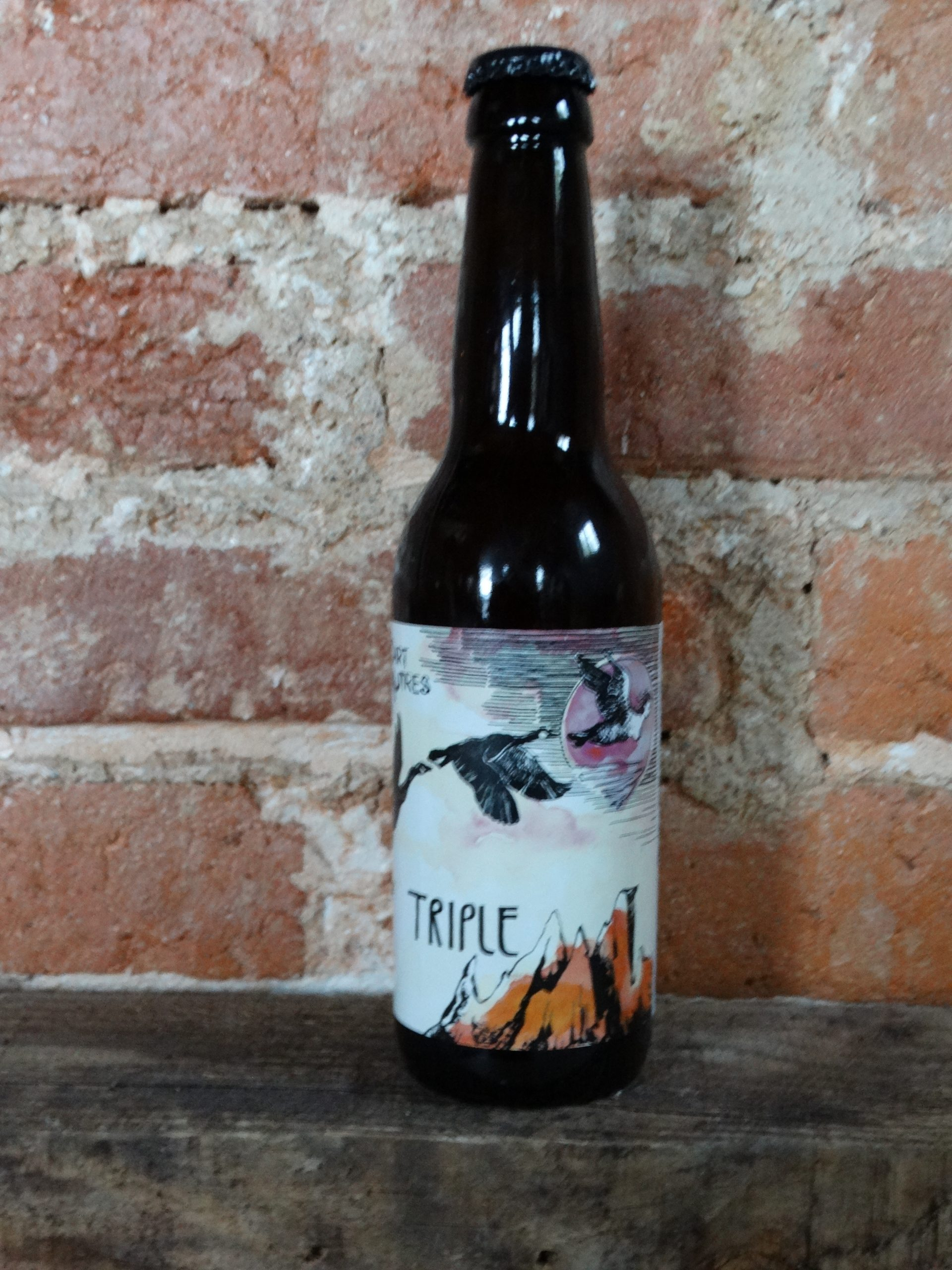 bière Triple La Brasserie La Part Des Autres Saint Just La Pendue
