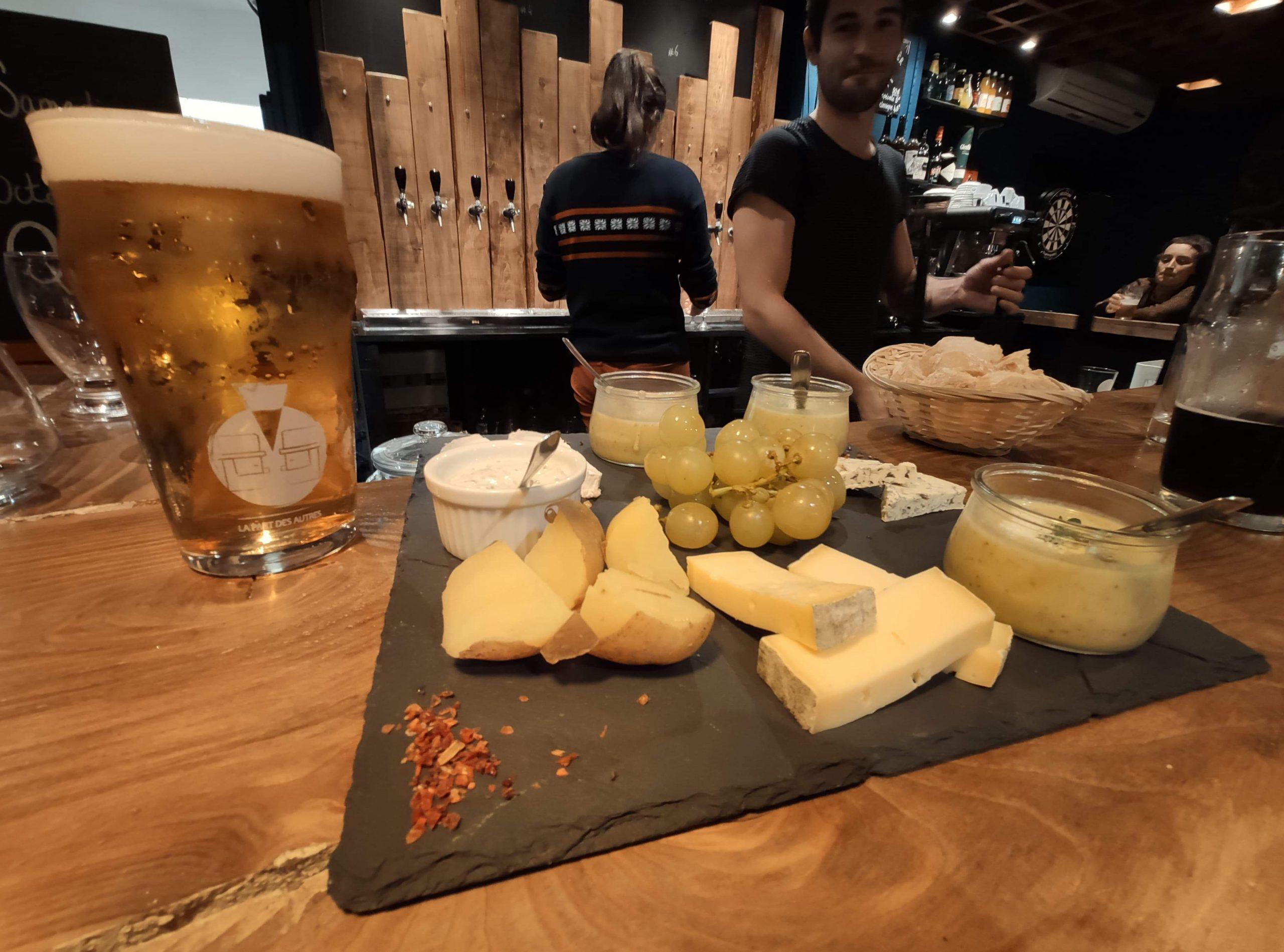 Planche Brew Pub Saint Etienne la Part Des Autres